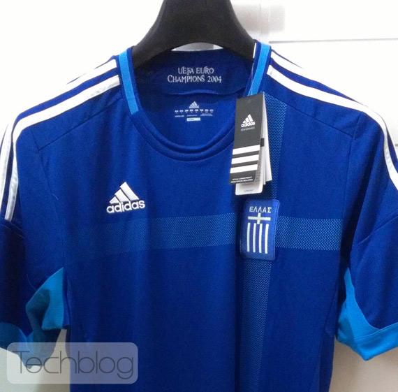 Κερδίστε την επίσημη φανέλα της Εθνικής για το Euro 2012