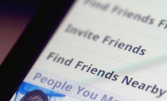 Facebook Find Friends Nearby, Θέλω οι φίλοι μου να είναι κοντά...