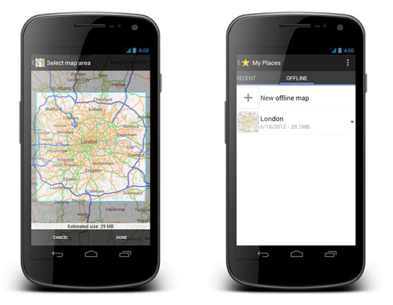 Google Maps For Android Epishmh Enar3h Ths Dia8eshs Toy Update Me