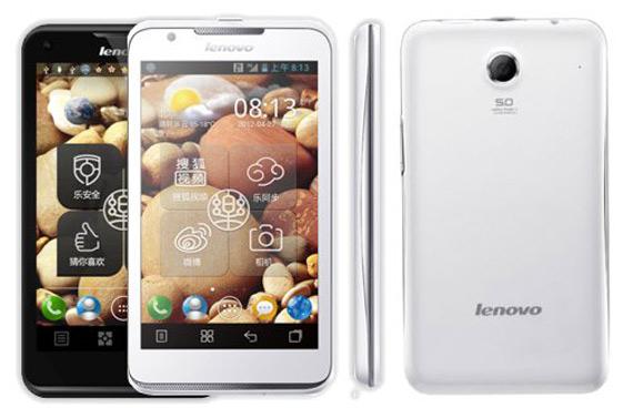 Lenovo LePhone S880, Δίκαρτο Android smartphone με οθόνη 5 ιντσών