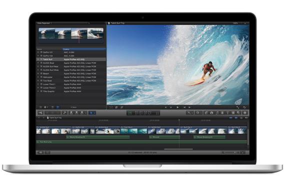 Νέο MacBook Pro 2012 με Retina display, Το επίσημο διαφημιστικό βίντεο