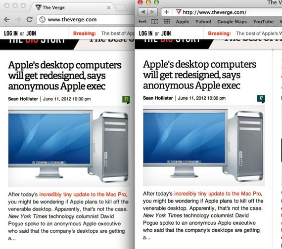 Macbook Pro Retina Display, Δεν ισχύει για όλα το...