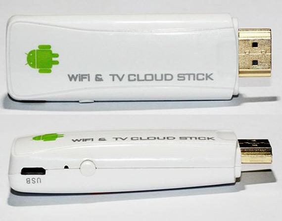 CX-01 Mini Android TV Box, USB stick με Ice Cream Sandwich