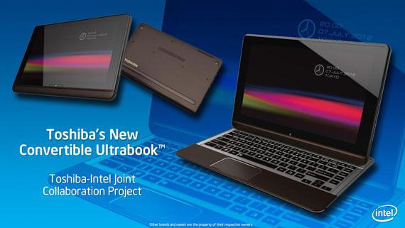 Αναδιπλούμενο ultrabook παρουσίασε η Toshiba στην Computex