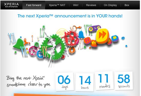 Sony Xperia smartphones, Κάνε τα πάντα για να ανακοινωθούν νωρίτερα