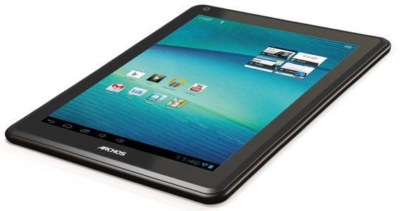 Archos 97 carbon, Android tablet με ICS και θύρα USB