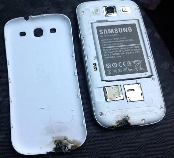 Samsung Galaxy S III, Πήγε από φούρνο...