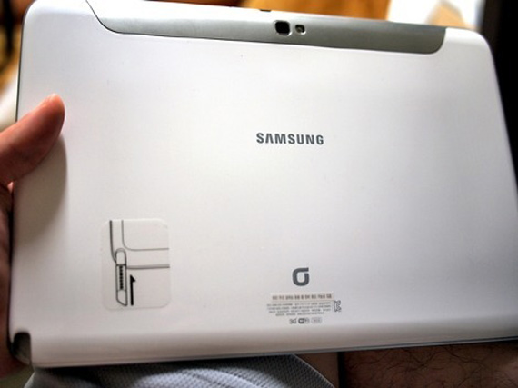 Samsung Galaxy Note 10.1, Το πρώτο unboxing προτού να κυκλοφορήσει