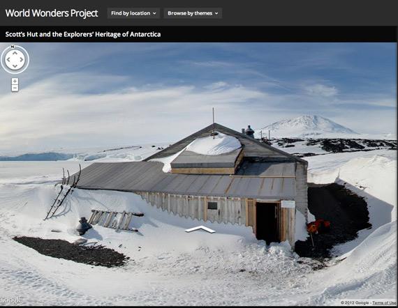 H Google με το World Wonders σε πάει ένα ταξιδάκι στην Ανταρκτική από το Desktop σου