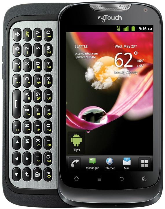 Huawei myTouch Q, Με οθόνη 4 ίντσες και συρόμενο πληκτρολόγιο