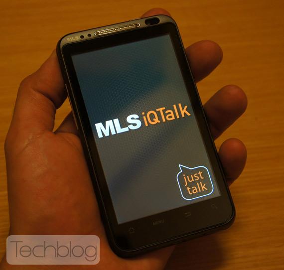 MLS IQTalk, Πρώτες φωτογραφίες hands-on