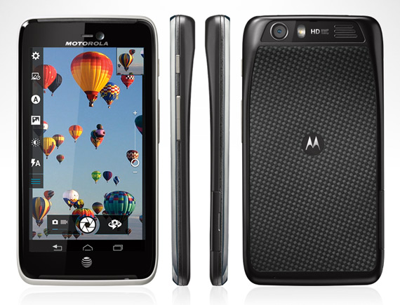 Motorola Atrix HD, Με οθόνη 4.5 ίντσες HD και Kevlar