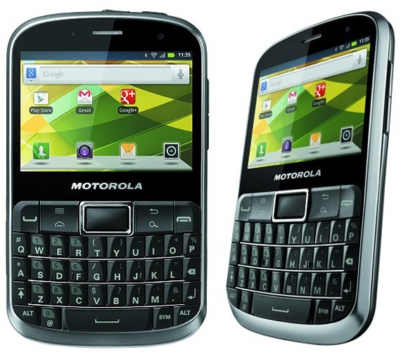 Motorola Defy Pro, Με πλήρες QWERTY πληκτρολόγιο και αντοχή στο νερό