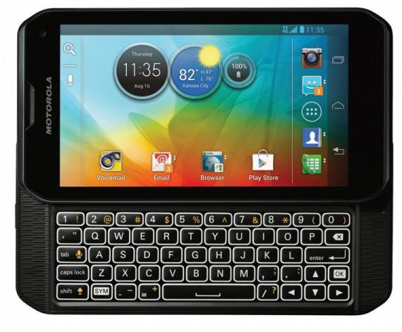 Motorola PHOTON Q, Με συρόμενο QWERTY πληκτρολόγιο και οθόνη 4.3 ίντσες