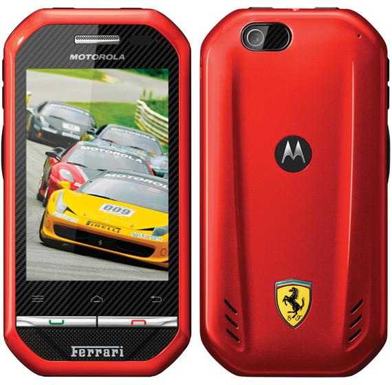 Motorola i867 Ferrari, Από έξω κούκλα και από μέσα... πανούκλα!