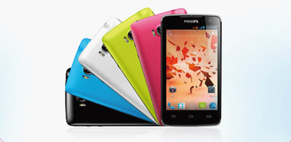 Philips W732, Δίκαρτο Android smartphone για την αγορά της Κίνας
