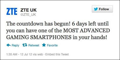 ZTE, Την επόμενη εβδομάδα θα ανακοινώσει το πιο εξελιγμένο gaming smartphone