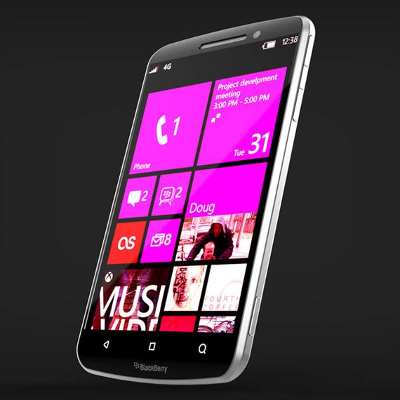 BlackBerry Windows Phone, Στη σφαίρα της φαντασίας και ας δείχνει πραγματικό