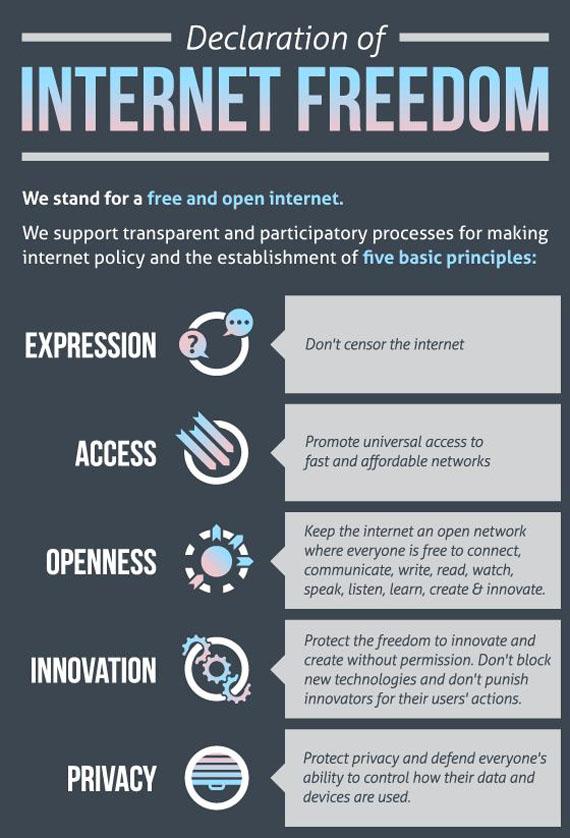 Διακήρυξη της Ελευθερίας του Ίντερνετ, Δηλώστε και εσείς την υποστήριξή σας