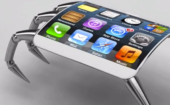iPhone 5 spider [concept]