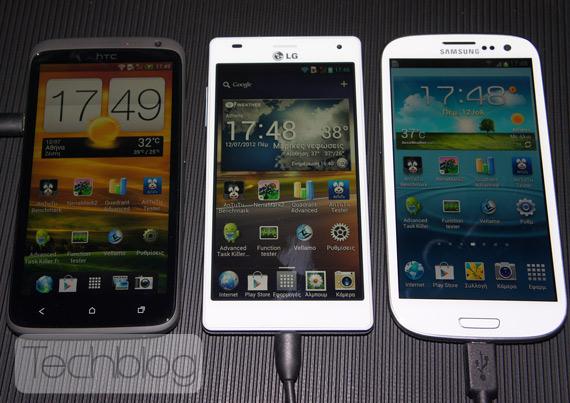 Quad-core smartphones live hands-on, Απόψε στις 22:00 ζωντανά