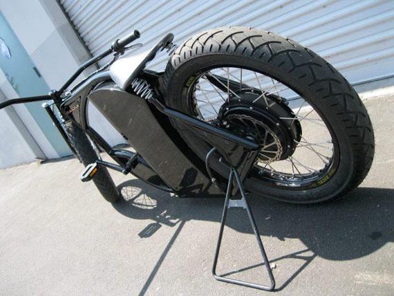 Marrs M-1, Μία Harley με πετάλι και ηλεκτρικό κινητήρα