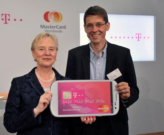 MasterCard και Deutsche Telekom, Συνεργασία για συναλλαγές μέσω κινητού