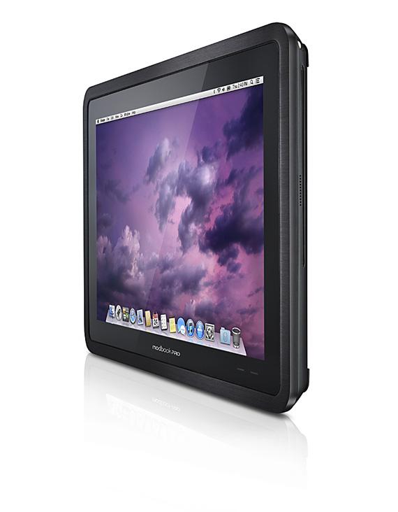 Modbook Pro, Ένα Tablet βασισμένο στο Macbook με δύο λειτουργικά