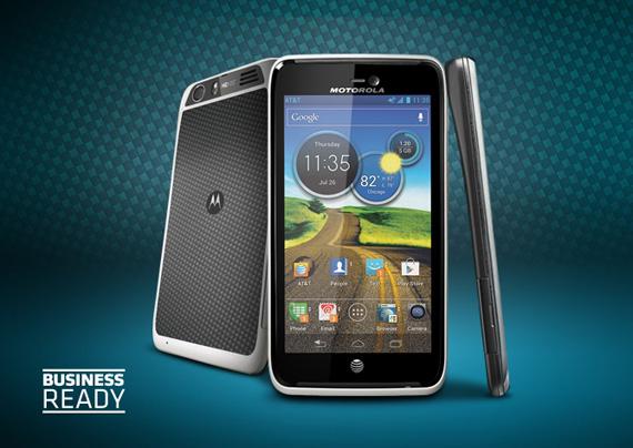 Motorola Atrix HD, Εμφανίζεται στο site της εταιρείας με τα όλα του