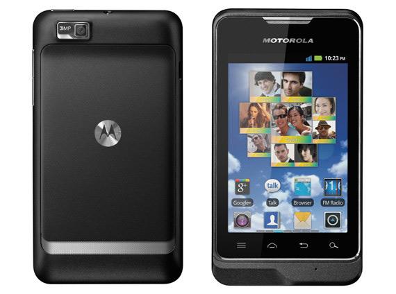 Motorola Motosmart, Προσιτό Android smartphone με οθόνη 3.5 ίντσες