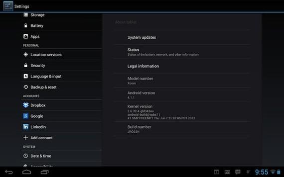 Motorola Xoom WiFi, Ετοιμάζεται να υποδεχτεί το Android Jelly Bean