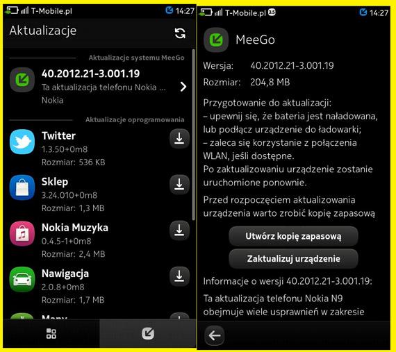 Nokia N9, Λεπτομέρειες για το πρόσφατο update σε Meego PR 1.3
