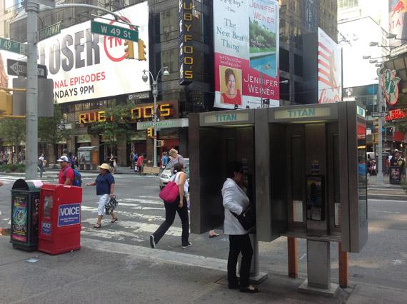 Νέα Υόρκη, Μετατροπή των καρτοτηλεφώνων σε δημόσια Wi-Fi Hotspots
