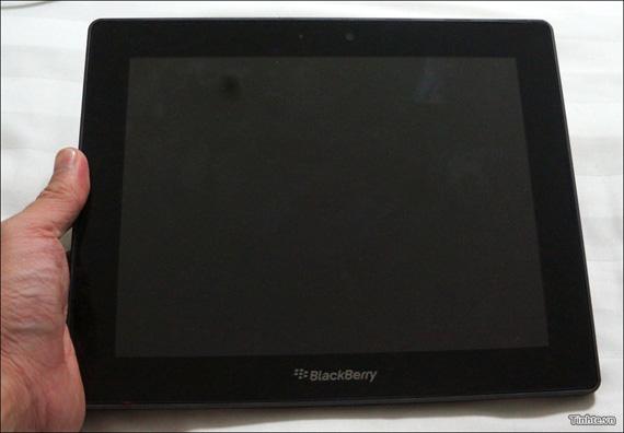 BlackBerry PlayBook, Διαρροή εικόνων του 10 ιντσου μοντέλου πριν την κυκλοφορία του