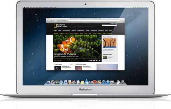 Apple Safari 6 και OS X Mountain Lion, Ανακοινώσεις νέου software