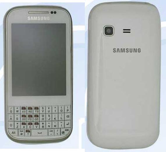 Samsung GT-B5330, Διαρρέουν πληροφορίες για QWERTY Android ICS