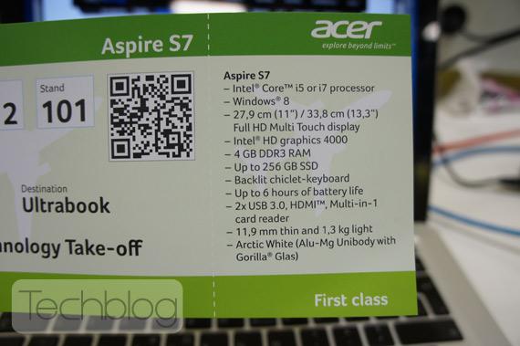 ACER Aspire S7 ultrabook με οθόνη αφής Full HD και Windows 8 [hands-on]