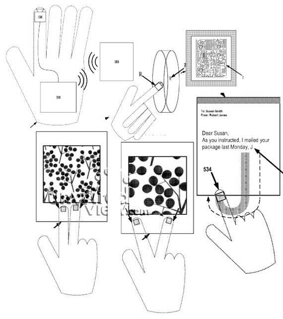 Google Smart Glove, Πατέντα που θα σε κάνει να βιώνεις φάσεις Minority Report