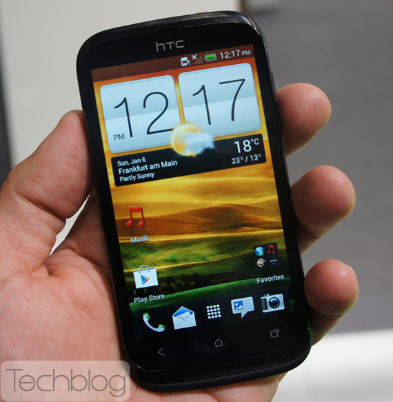 HTC Desire X πρώτη επαφή hands-on [IFA 2012]