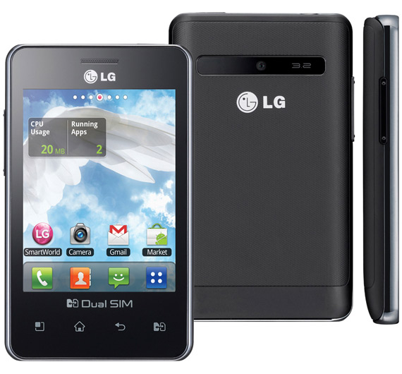 LG Optimus L3 Dual, Δίκαρτο Android smartphone με τιμή 149 ευρώ