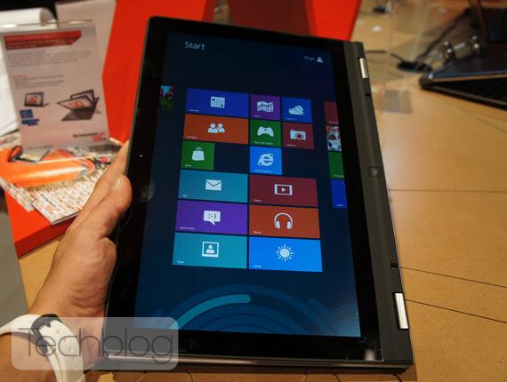 Lenovo Yoga 13 πρώτη επαφή hands-on [IFA 2012]