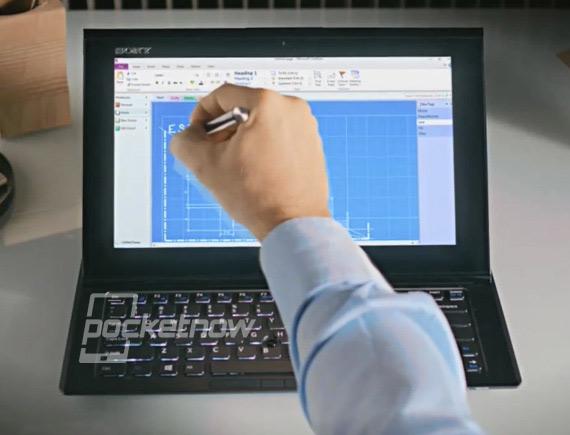 Sony VAIO Duo 11, Με Windows 8 και οθόνη αφής με πενάκι!