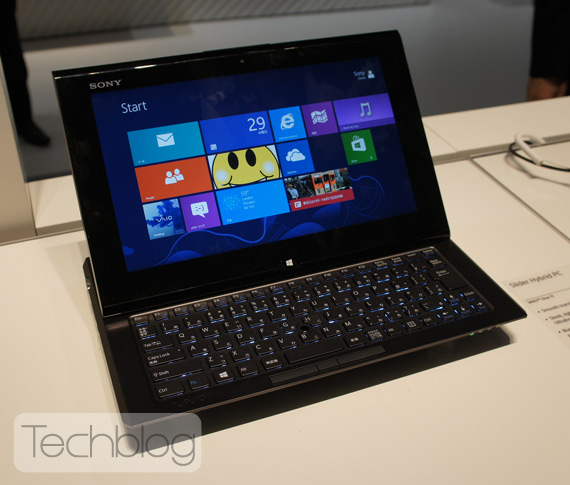 Sony Vaio Duo 11 hands-on video [IFA 2012]