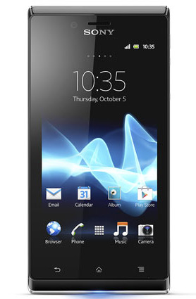 Sony Xperia J hands-on [IFA 2012]