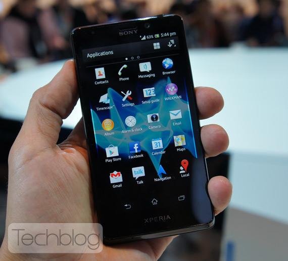 Sony Xperia T, Ελλάδα κυκλοφορεί το πρώτο 10ημερο του Νοεμβρίου