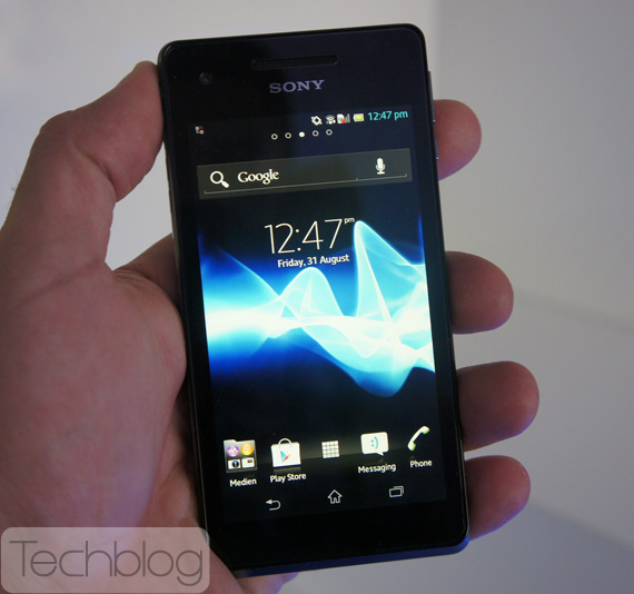 Sony Xperia V πρώτη επαφή hands-on [IFA 2012]