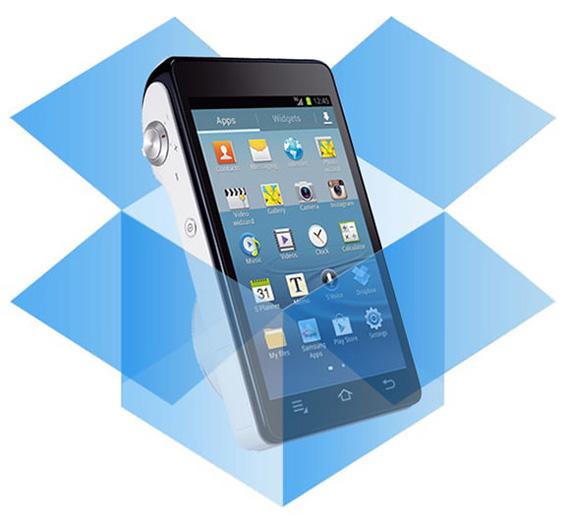 Dropbox και Samsung, 50 GB στο Note II και στην Galaxy Camera