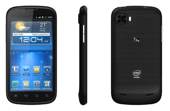 ZTE Grand X ΙΝ, Επίσημη η παρουσίαση του πρώτου Intel Medfield smartphone της εταιρείας [IFA 2012]