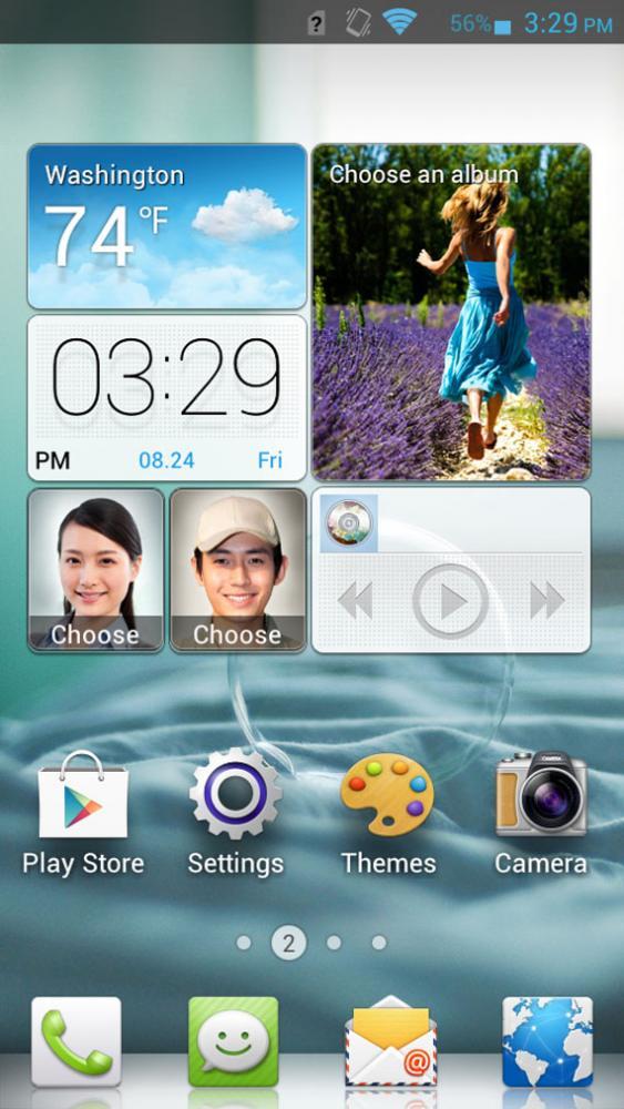 Huawei Emotion User Interface, Πρώτη επίδειξη στην IFA 2012