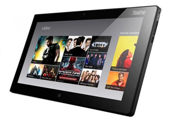 Lenovo ThinkPad Tablet 2, Η πρώτη της ταμπλέτα με Windows 8